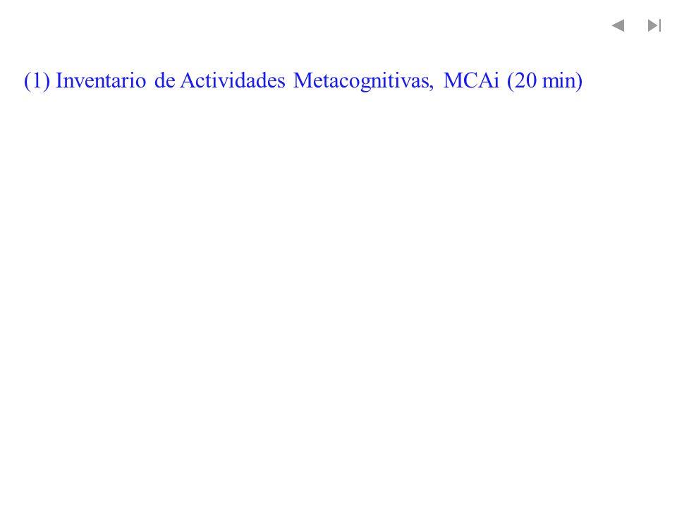 Metacognición y enseñanza metacognición adaptativa (1) (1) Lin, Schwartz, & Hatano, 2005 experiencia adaptativa (2) (2) Brandsford, et al., 2005 instrucción basada en la respuesta (3) (3) Galda & Guice, 1997 enseñanza reflectiva (4) enseñanza reflectiva (4) (4) Little et al.