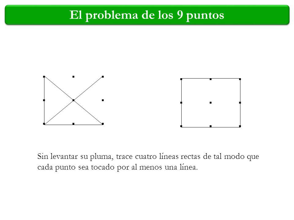 .................................... El problema de los 9 puntos