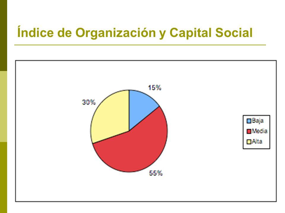 Índice de Organización y Capital Social