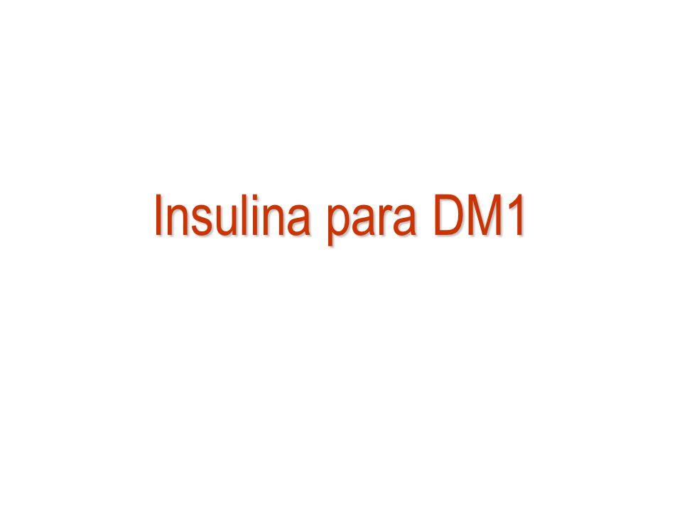 Insulina para DM1