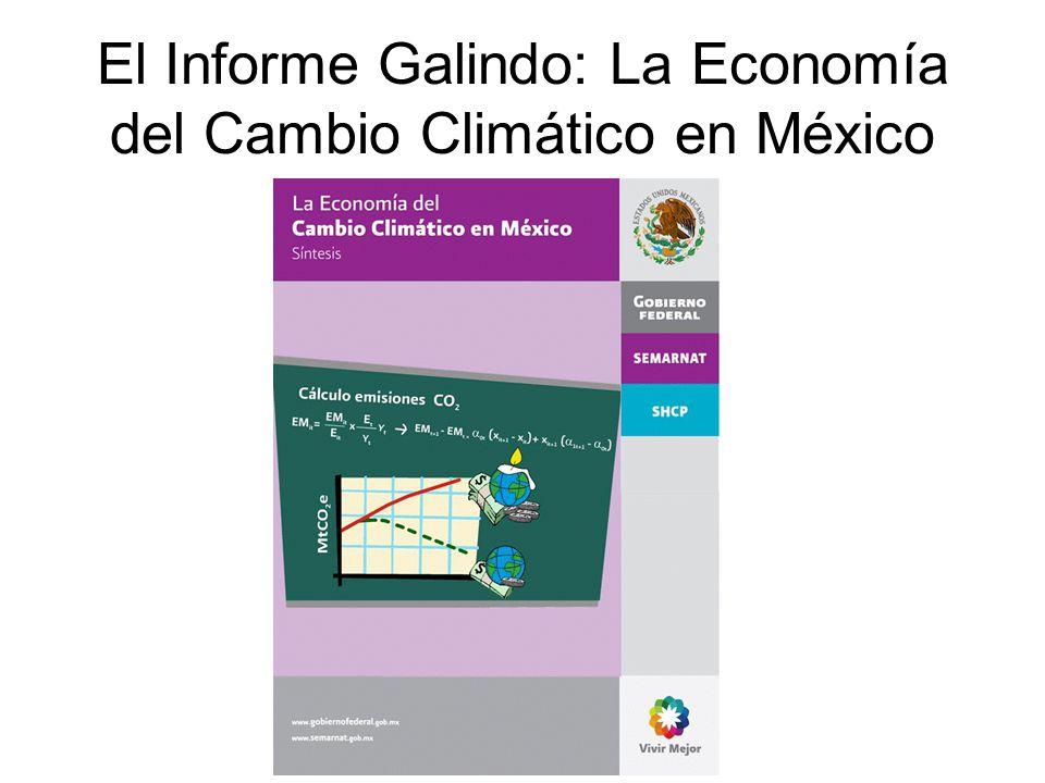 El Informe Galindo: La Economía del Cambio Climático en México