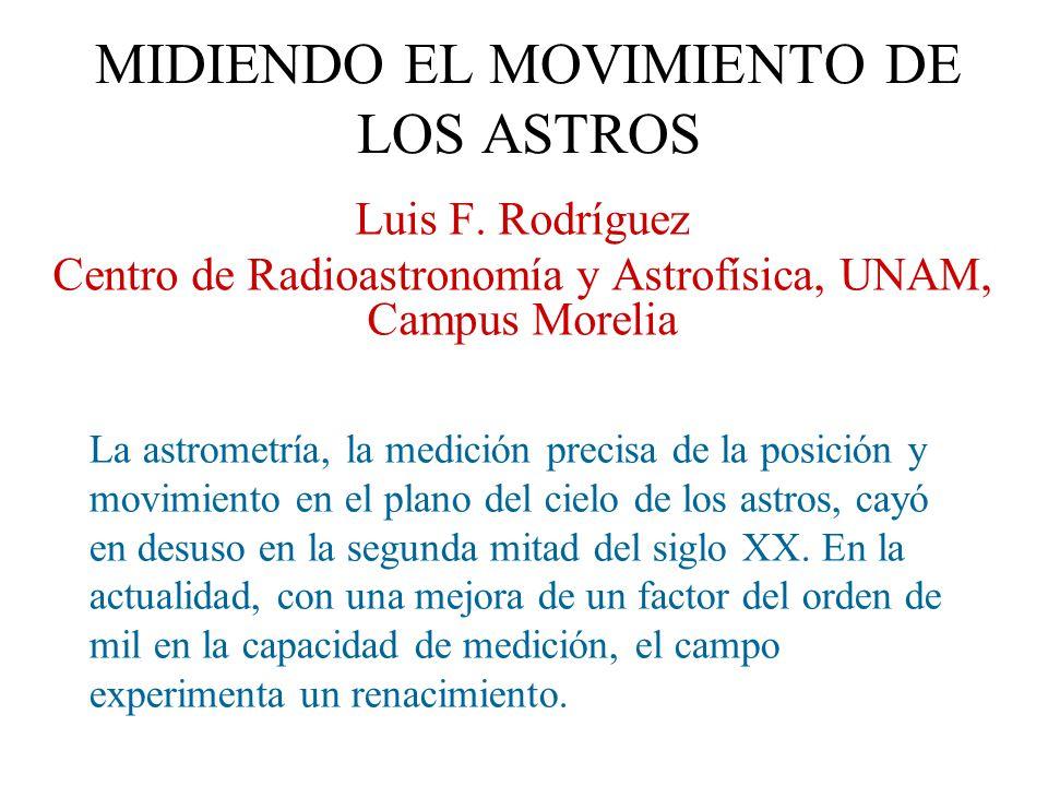 Luis Enrique Erro Esta situación se reflejó aún en la astronomía mexicana de aquella época…