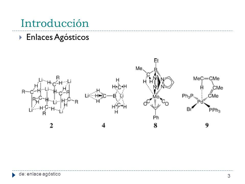 Introducción de: enlace agóstico 3 Enlaces Agósticos