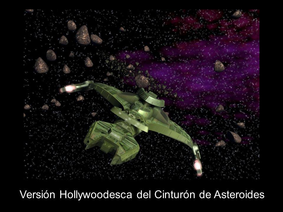 Versión Hollywoodesca del Cinturón de Asteroides