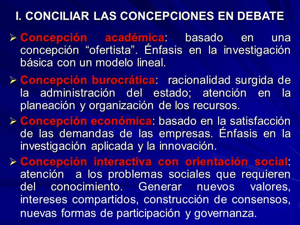 HACIA UNA SOCIEDAD BASADA EN CONOCIMIENTO: ESTRATEGIAS DE POLITICAS PARA LA CIENCIA, TECNOLOGIA E INNOVACION