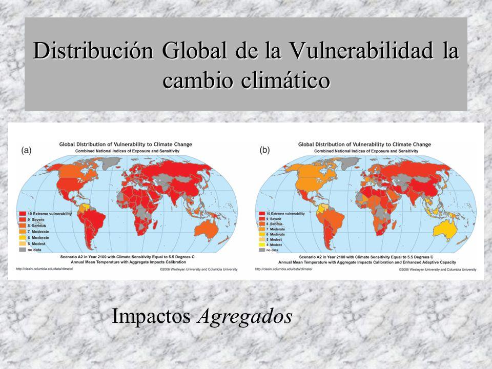 Impactos clave con aumento de temperatura ¿Qué le ocurrirá a las regiones / sectores en México con +2ºC?