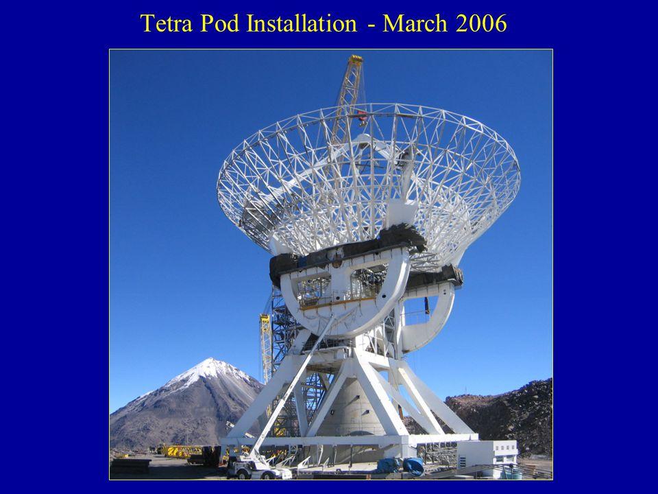 Tetra Pod Installation - March 2006