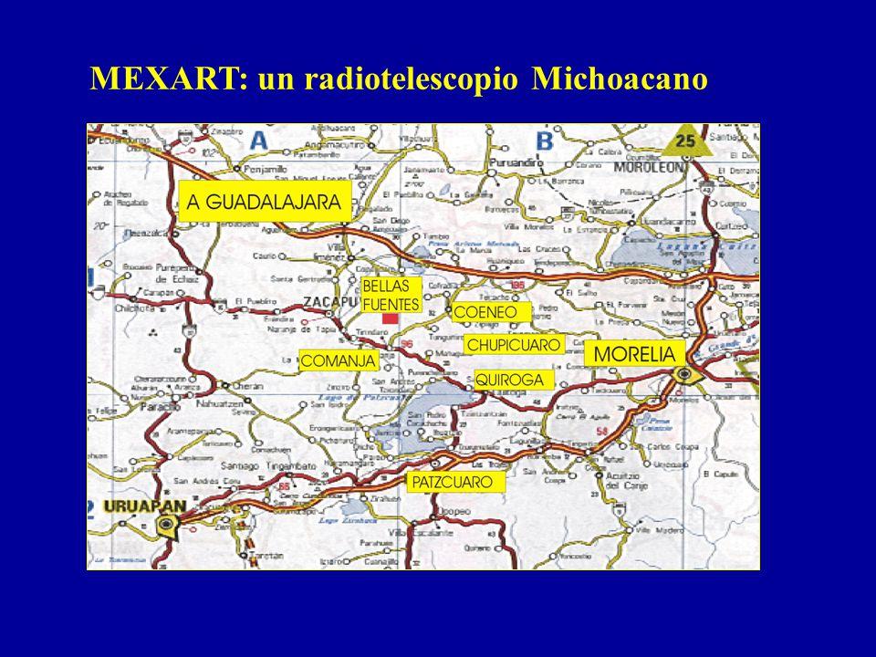 MEXART: un radiotelescopio Michoacano