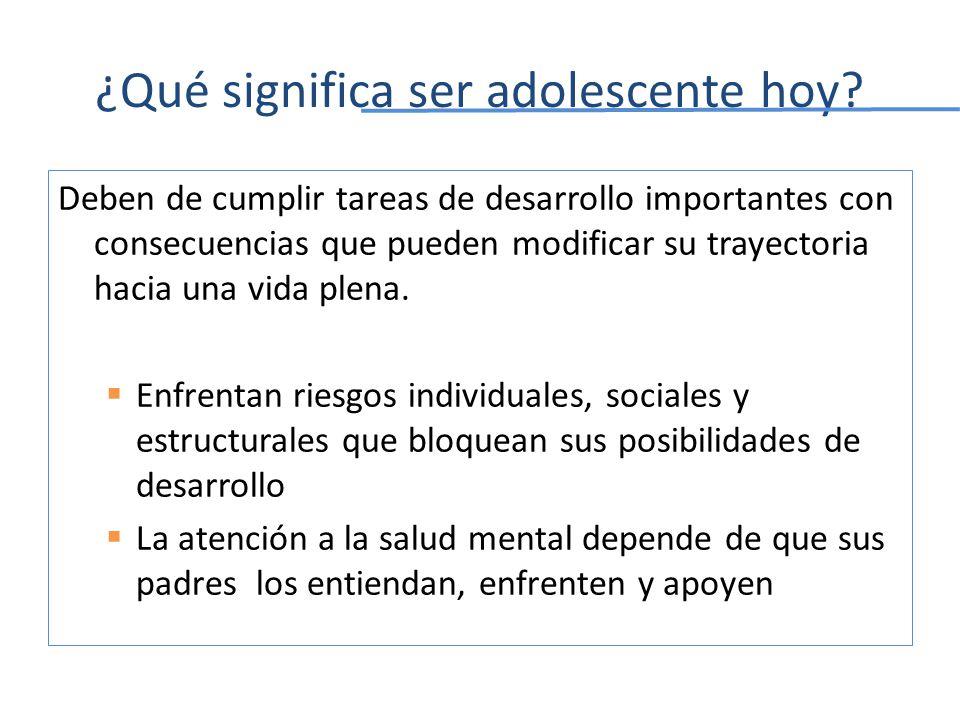 Depresión de inicio temprano: Resultados de la Encuesta Nacional de Epidemiología Psiquiátrica El curso de la enfermedad de los que la sufren en edades tempranas es más crónico y de mayor duración.