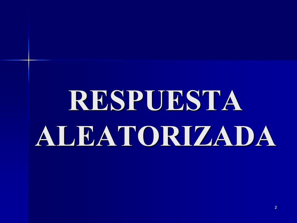 2 RESPUESTA ALEATORIZADA