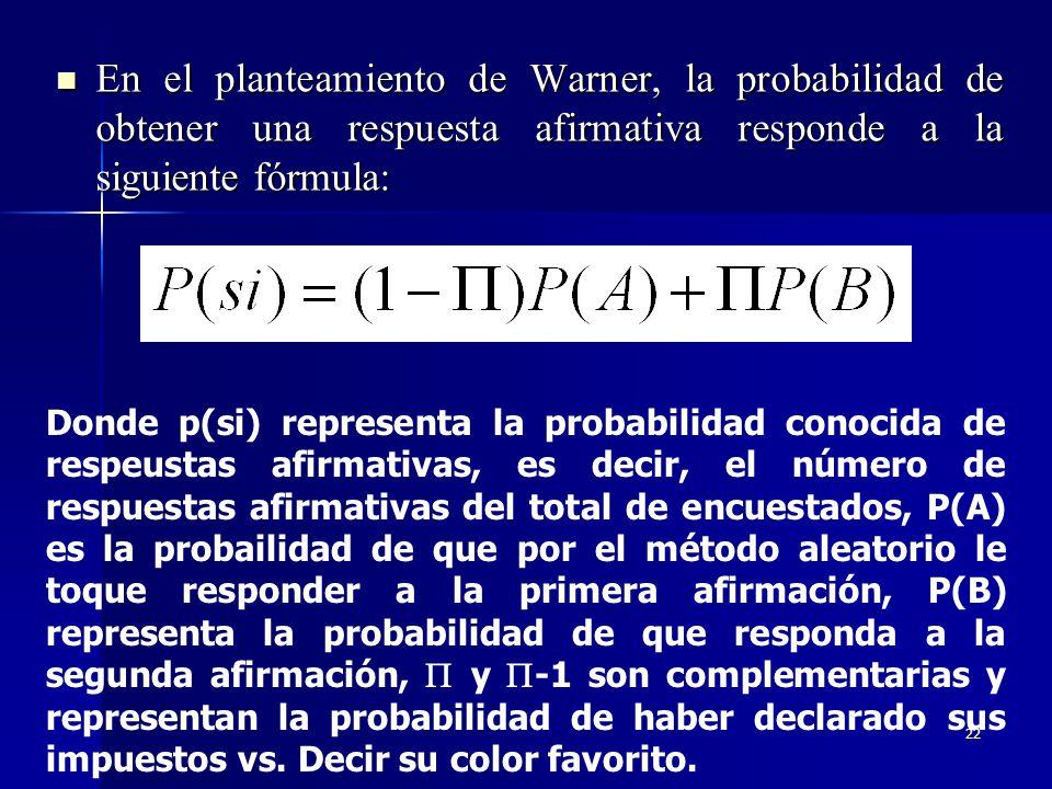 21 El mecanismo de aleatorización que originalmente utilizó Warner es una aguja giratoria en un disco con dos regiones delimitadas. La aguja apunta co