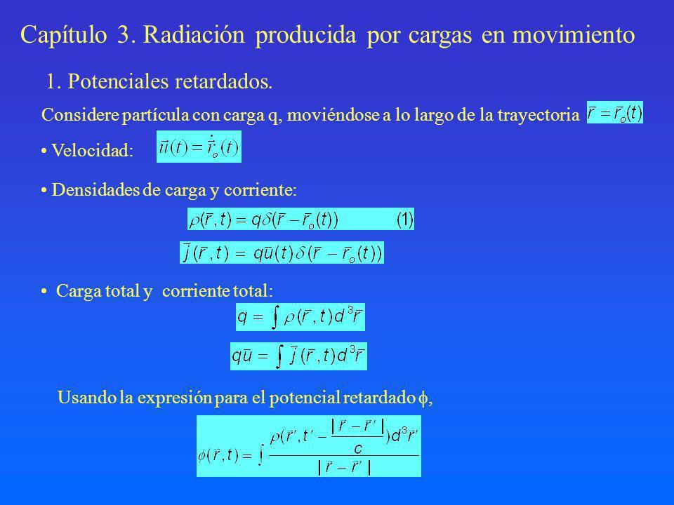 y las propiedades de la función, Reemplazando la expresión (1) e integrando en r, Haciendo el cambio de variables: donde podemos escribir En forma similar se encuentra que