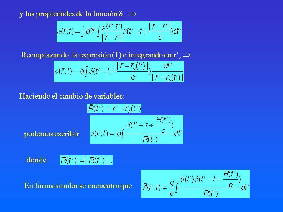 Note que el argumento de la función se anula para t =t ret dado por c(t-t ret )=R(t ret ).
