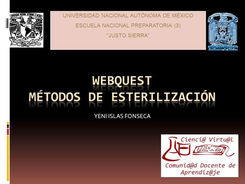 UNIVERSIDAD NACIONAL AUTÓNOMA DE MÉXICO ESCUELA NACIONAL PREPARATORIA (3) JUSTO SIERRA YENI ISLAS FONSECA