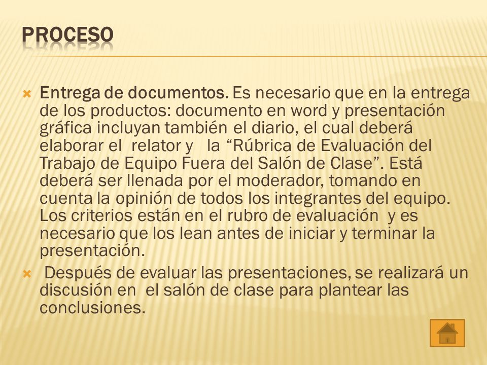 Entrega de documentos.