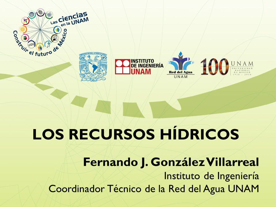 LOS RECURSOS HÍDRICOS Fernando J.