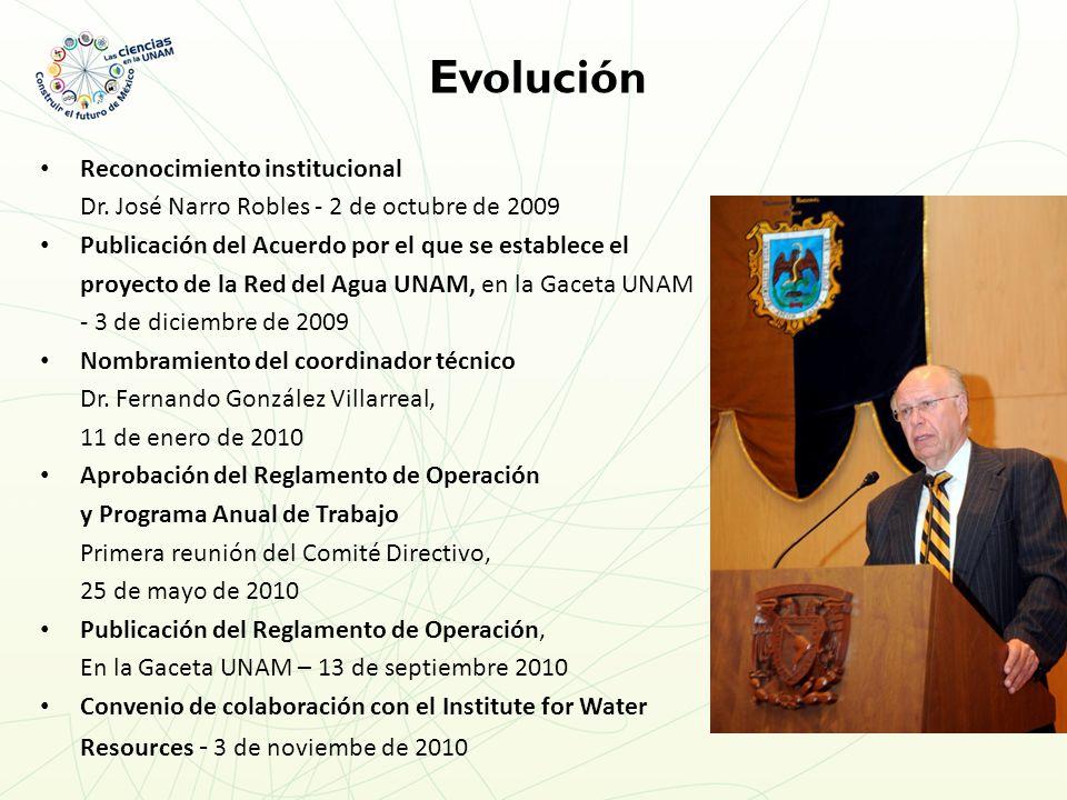 Reconocimiento institucional Dr.