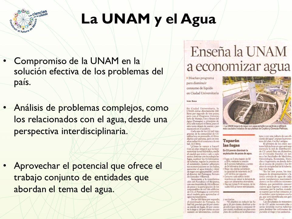 Compromiso de la UNAM en la solución efectiva de los problemas del país.
