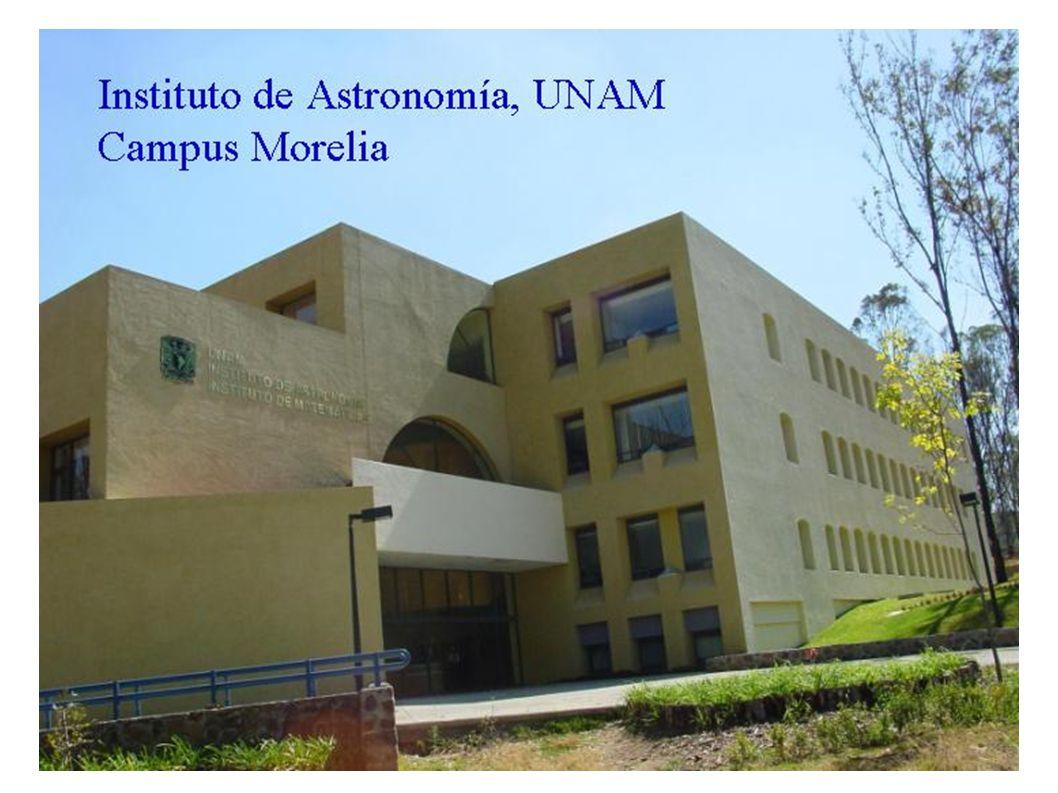 INSTITUTO DE ASTRONOMIA UNAM CAMPUS MORELIA