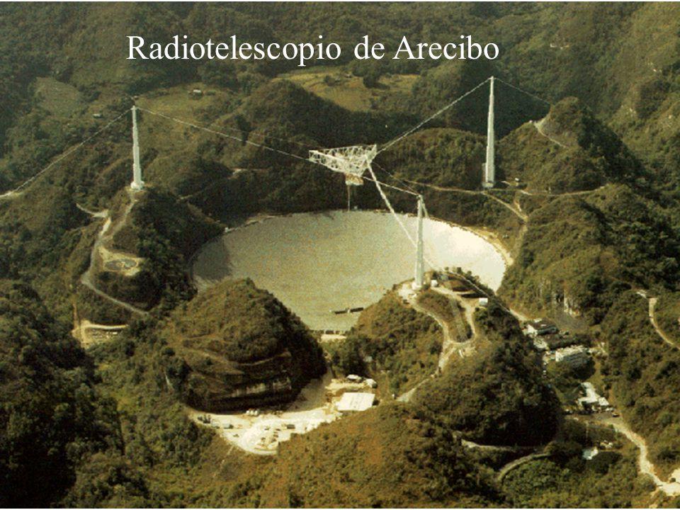 Imágenes de un asteroide mediante radar astronomía (el asteroide en si es emisor muydébil de ondas de radio)