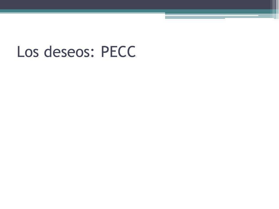 Los deseos: PECC