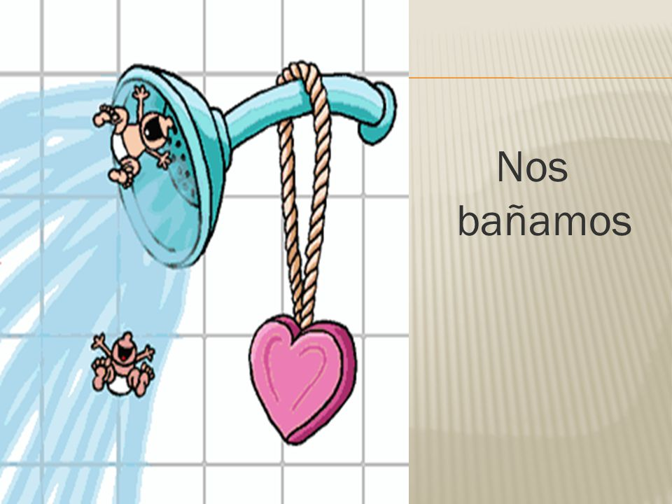Nos bañamos