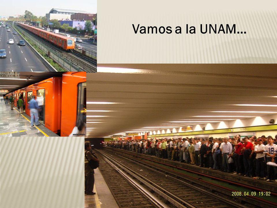 Vamos a la UNAM…
