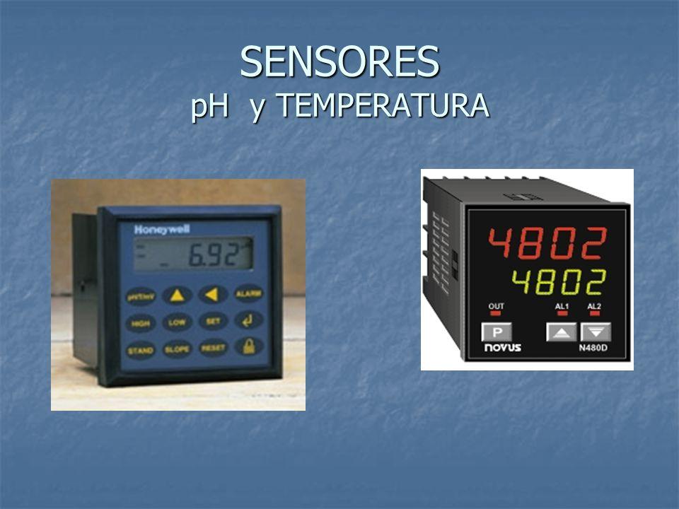 SENSORES pH y TEMPERATURA