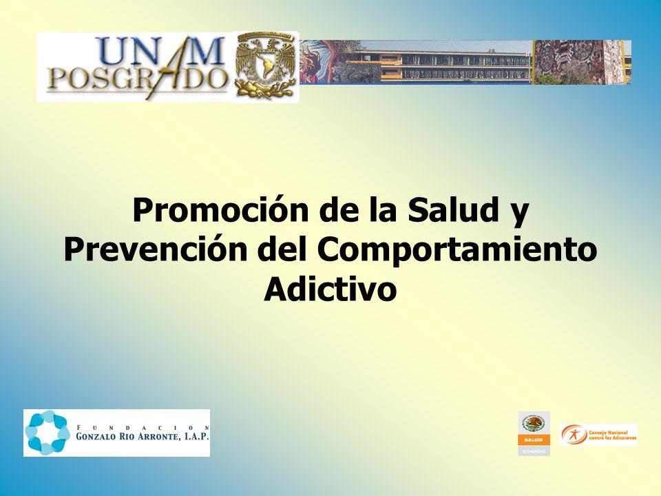 1. Consumo de alcohol 7. Tabaco Salud mental Abuso de sustancias Consulta general