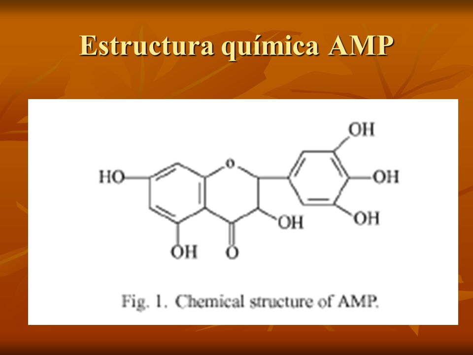 Estructura química AMP