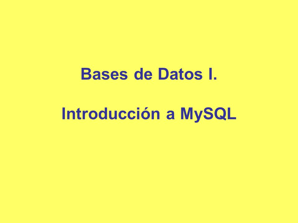 Modelo de las bases de datos Para que el sistema sea útil debe recuperar datos de forma eficiente.