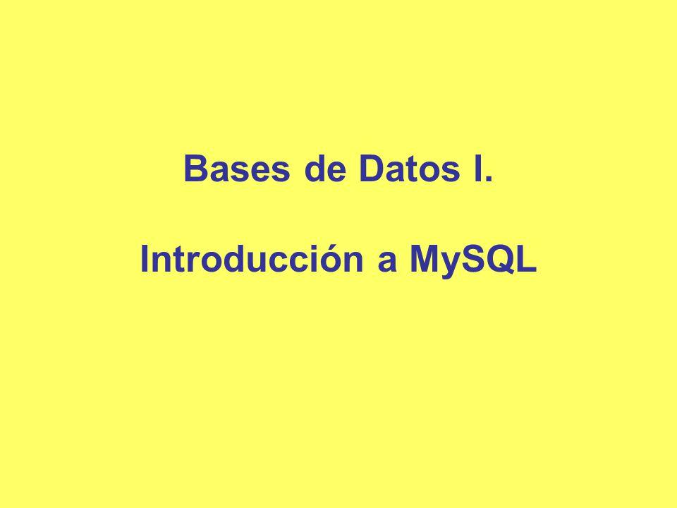 Aplicación de las bases de datos Las bases de datos son ampliamente usadas.