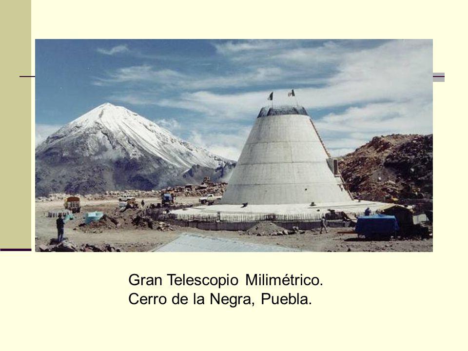 Gran Telescopio Milimétrico. Cerro de la Negra, Puebla.