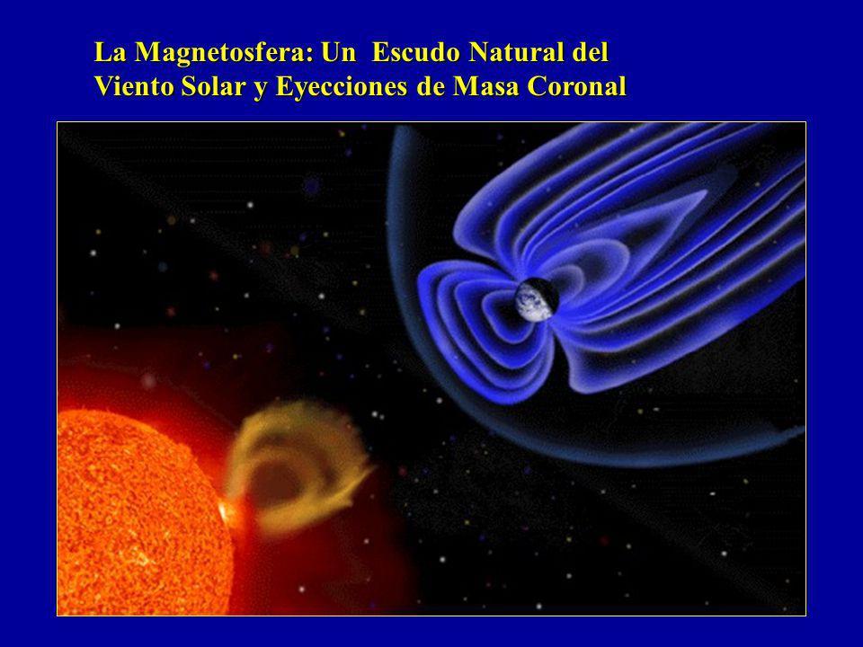 La Magnetosfera: Un Escudo Natural del Viento Solar y Eyecciones de Masa Coronal