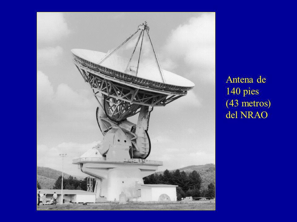 Antena de 140 pies (43 metros) del NRAO
