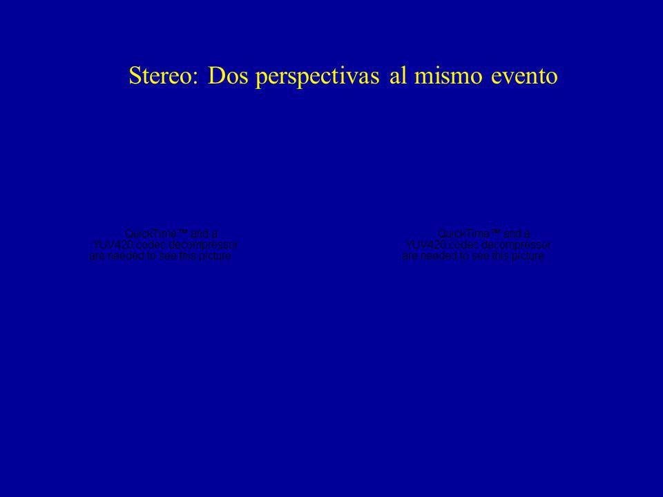 Stereo: Dos perspectivas al mismo evento