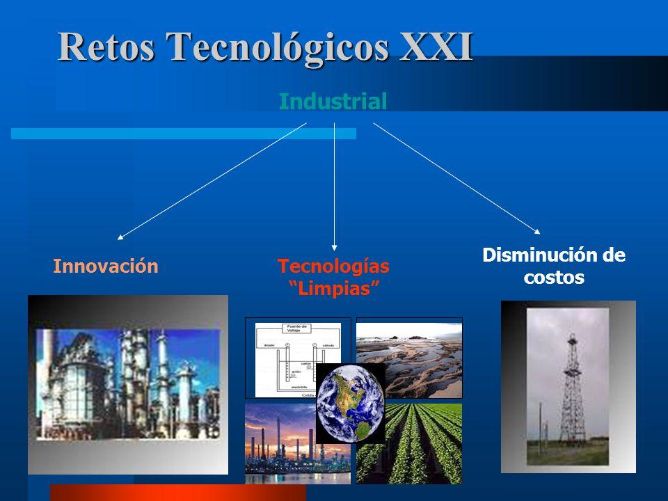7 Retos Tecnológicos XXI Industrial InnovaciónTecnologías Limpias Disminución de costos