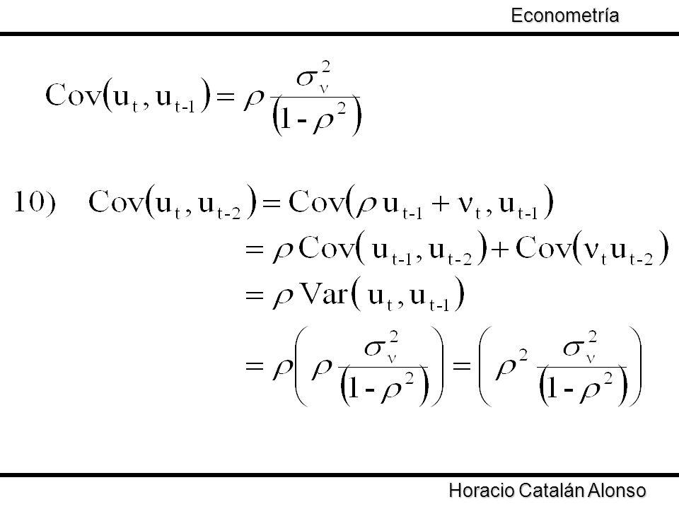Taller de Econometría Horacio Catalán Alonso Econometría