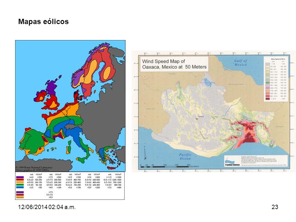 12/06/2014 02:06 a.m.23 Mapas eólicos
