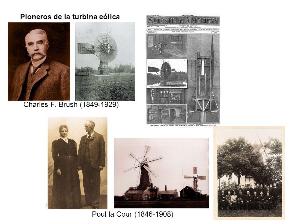 12/06/2014 02:06 a.m.3 Pioneros de la turbina eólica Charles F. Brush (1849-1929) Poul la Cour (1846-1908)
