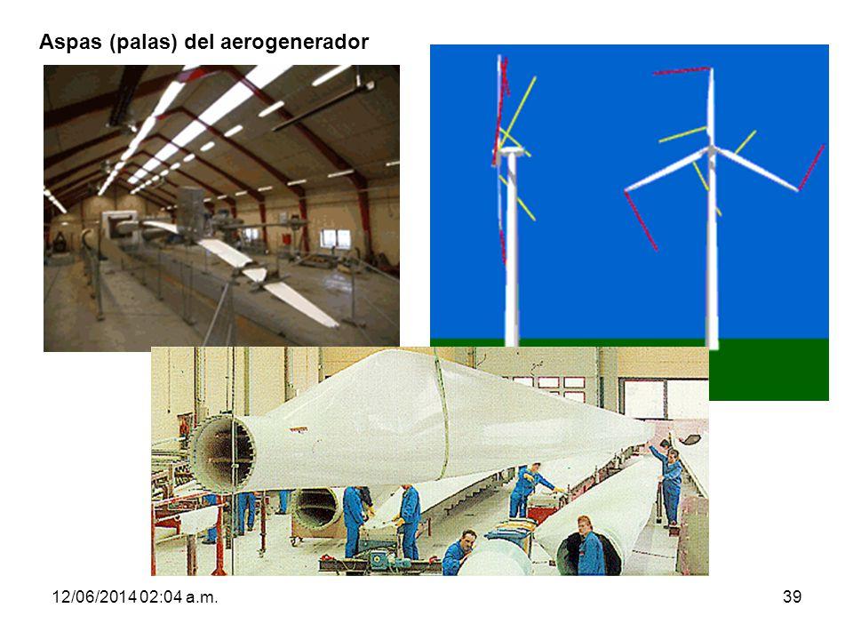 12/06/2014 02:06 a.m.39 Aspas (palas) del aerogenerador
