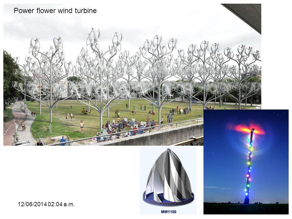 12/06/2014 02:06 a.m.68 Power flower wind turbine