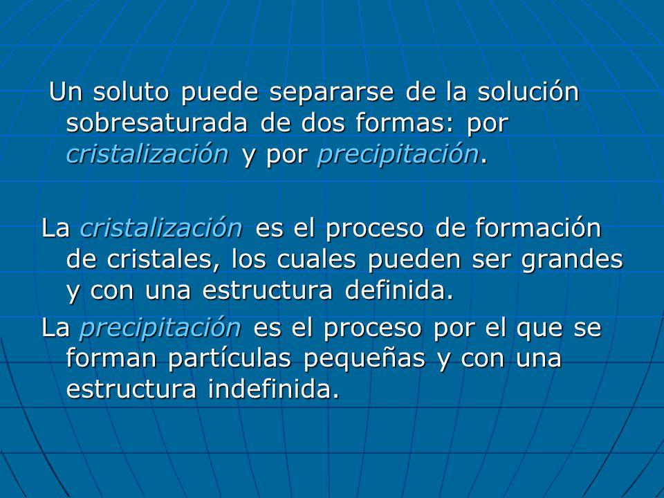 Concentración La concentración de una solución es la cantidad de soluto presente en una determinada cantidad de solución.