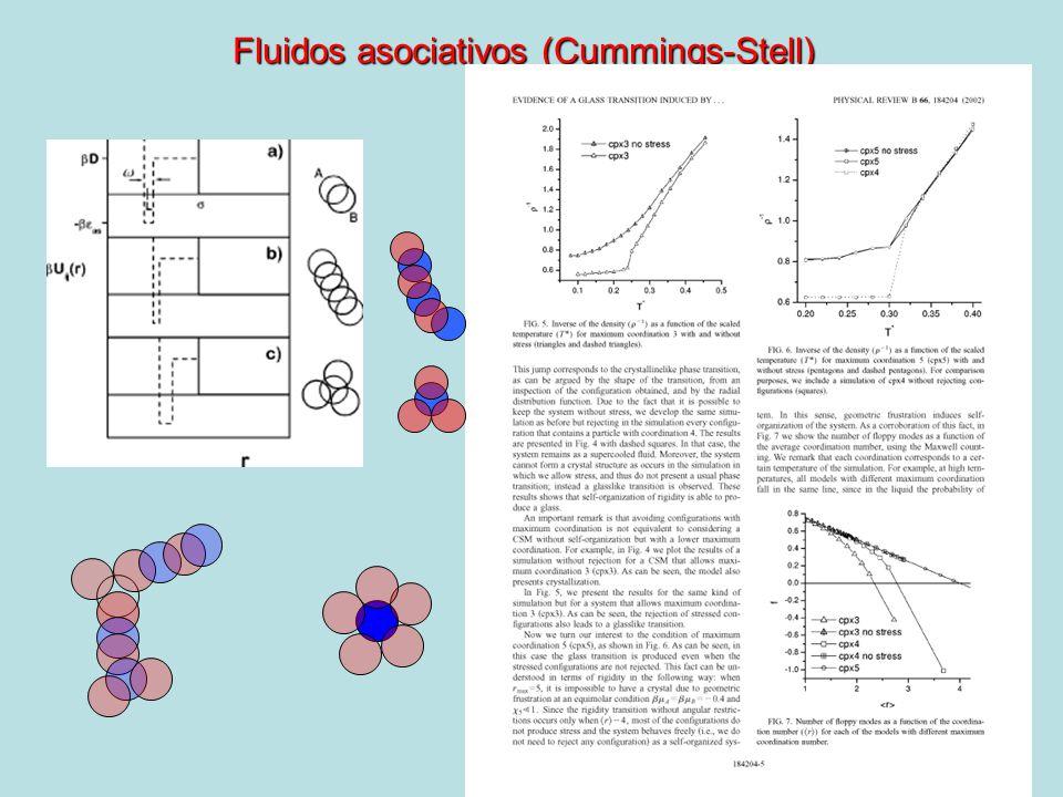 Fluidos asociativos (Cummings-Stell)