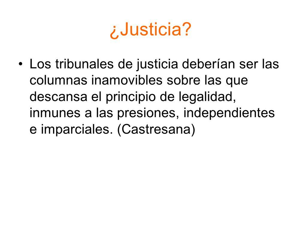 ¿Justicia.