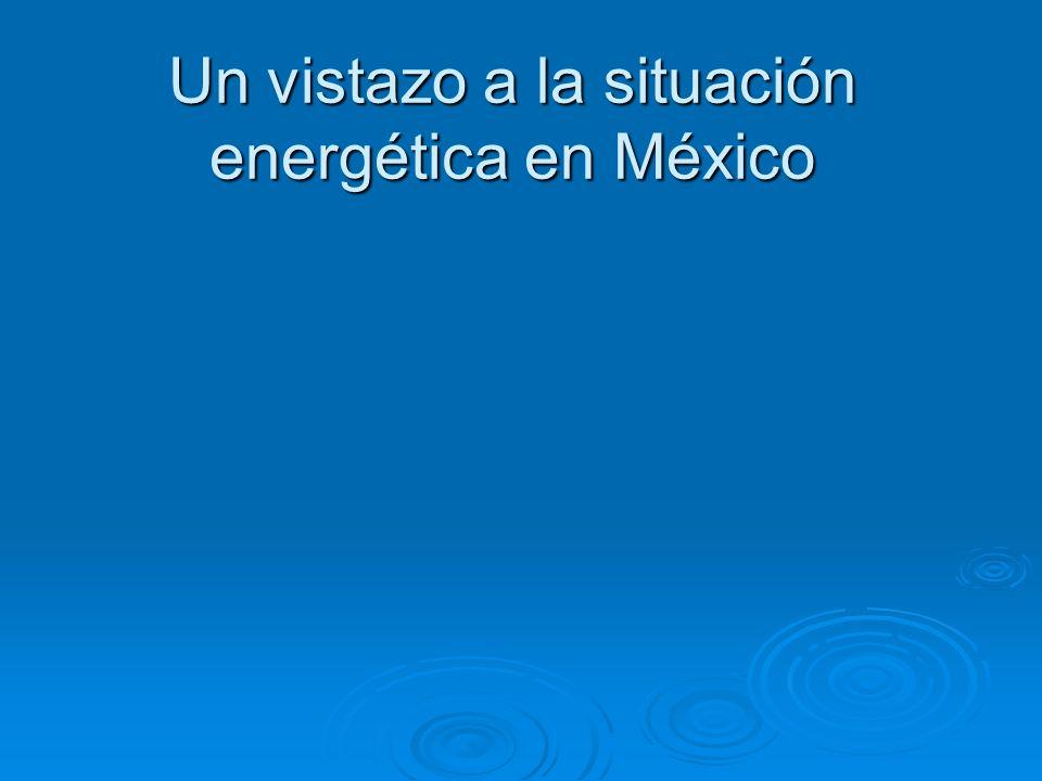 Evolución producción primaria de energía por tipo de fuente en México, 1999-2009 (PJ).