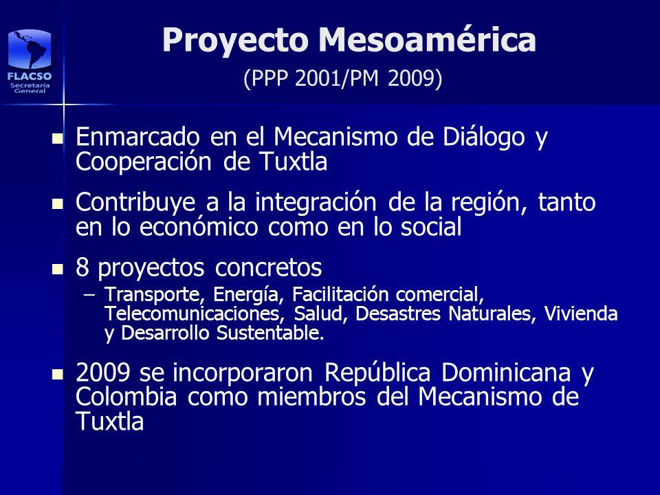 Proyecto Mesoamérica Enmarcado en el Mecanismo de Diálogo y Cooperación de Tuxtla Contribuye a la integración de la región, tanto en lo económico como
