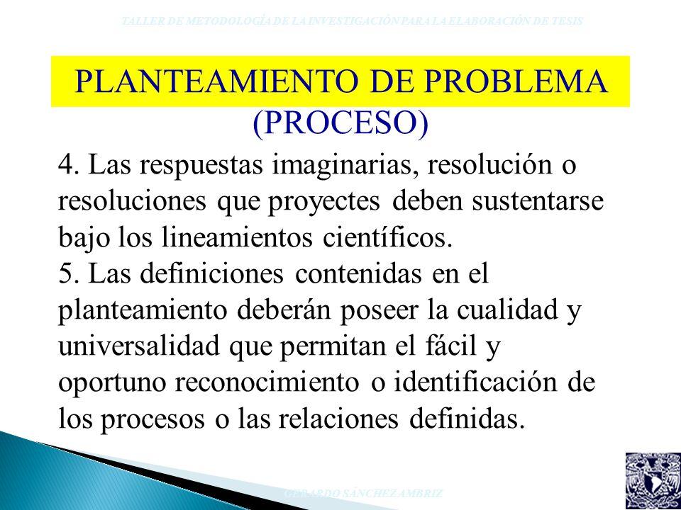 4. Las respuestas imaginarias, resolución o resoluciones que proyectes deben sustentarse bajo los lineamientos científicos. 5. Las definiciones conten