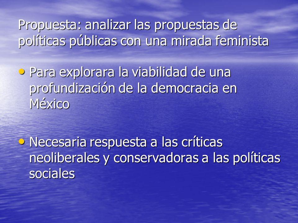 Globalización y propuestas feministas Feminismo Feminismo Desde la teorización y la práctica oferta al conjunto de la sociedad argumentos y propuestas para enfrentar la desigualdad que la diferencia sexual ha construido alrededor del sujeto mujer