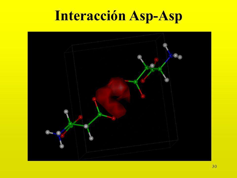 30 Interacción Asp-Asp